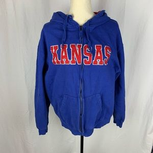 KU unisex zipper jacket